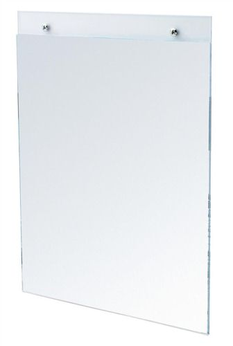 Deflecto Wall Sign Holder A3 Portrait Clear