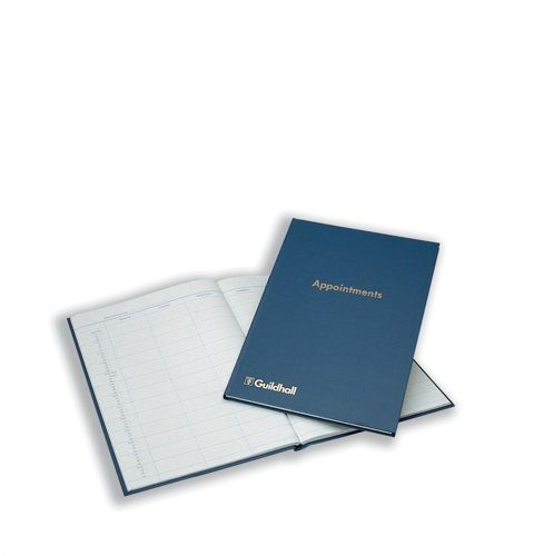 Guildhall Appointments Book 104 Pages 298x203mm Blue