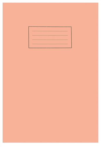 Silvine A4 Exercise Book 80 Pages 5mm Square Orange [Pack of 10]