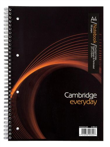 Cambridge Everyday A4 Wirebound Notebook [Pack of 5]
