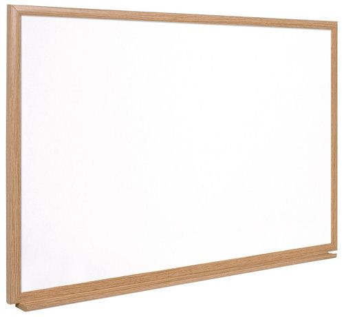 Earth-It Recycled Enamel Drywipe Board with Fixing Kit and Pen W1200XH900mm