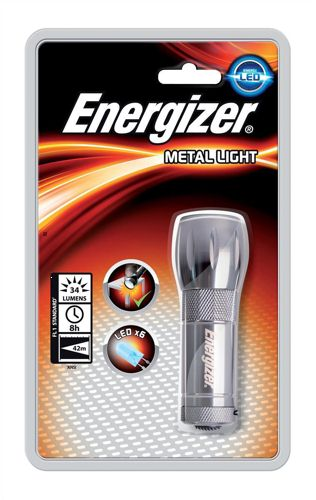Energizer Value Small Metal Torch Silver