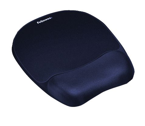 Fellowes 9172801 Memory Foam Wrist Rest and Mousepad Sapphire [Alternative Picture 1]
