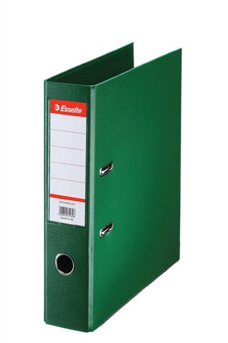 Esselte A4 Lever Arch File PVC 75mm Green [Pack of 10]