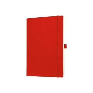 Sigel Conceptum Notebook Soft Cover Plain A4 Red
