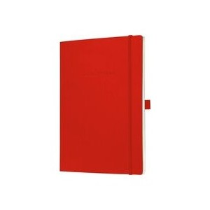 Sigel Conceptum Notebook Hard Cover Ruled A5 Red