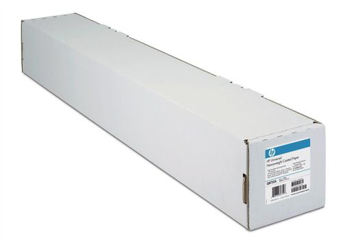 "HP C6019B Bright White 24"" Coated Paper Roll"