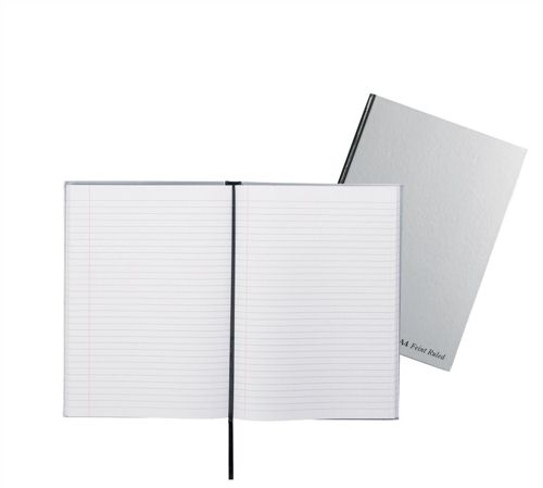 Pukka Pad Casebound Book A4 Silver [Pack of 5]