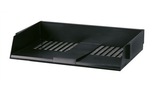 Avery System Letter Tray Wide Entry Black