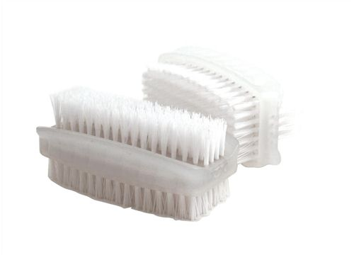 Bentley Twin Pack Plastic Nail Brushes
