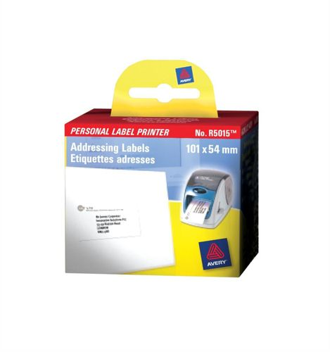 Avery Label Printer Roll Addressing Labels 89x36mm [Roll of 280]
