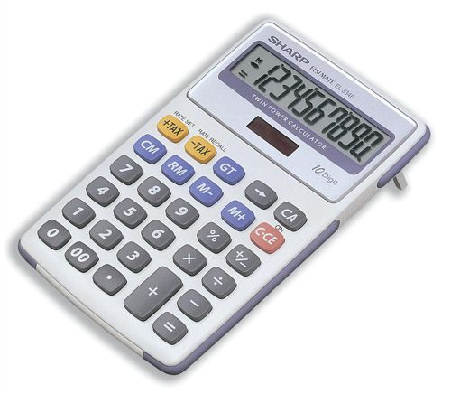 Sharp EL334FB Semi-Desk Calculator