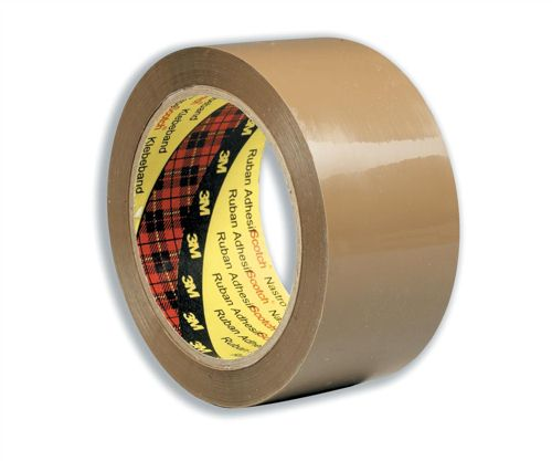 3M Scotch Low Noise Buff Tape 48x66m [Pack of 6]