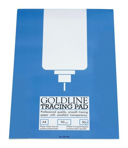 Goldline Professional Tracing Pad A4