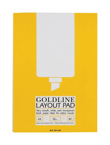 Goldline Layout Pad A3