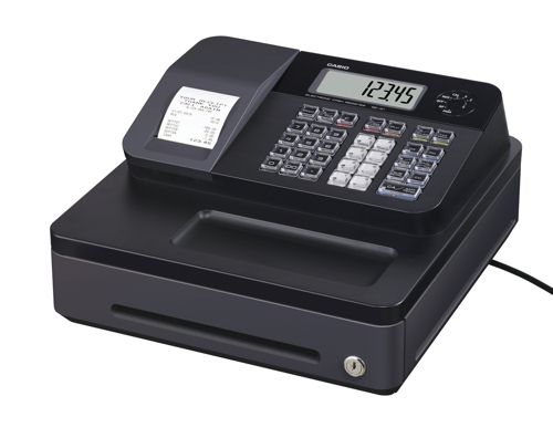 Casio Cash Register Black