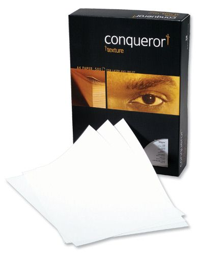 Conqueror Laid High White Paper A4 100g [Pack of 500]