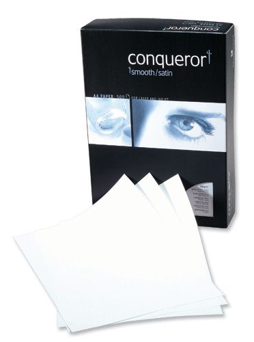 Conqueror High White Wove Paper A4 100g [Pack of 500]