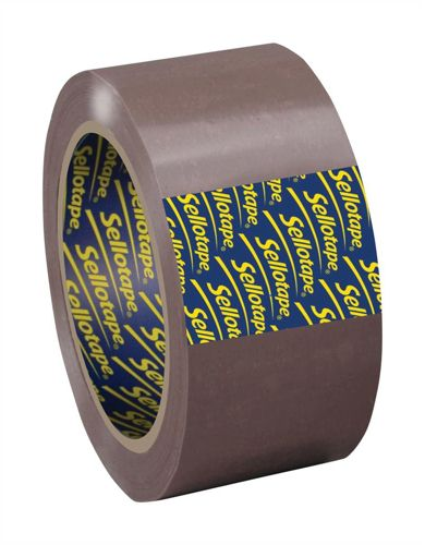 Sellotape Packaging Tape 50mmx66m Buff [Pack of 6]