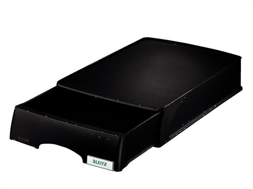 Leitz Plus Drawer Unit Letter Tray Black