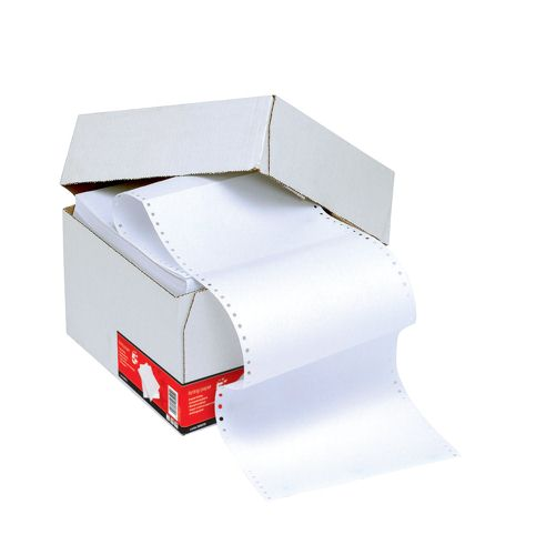 Listing Paper 1-PART 60GSM 11INCHX368mm Ruled [2000 Sheets]
