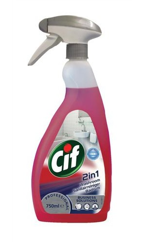 Cif Professional Washroom 2-In-1 750ml