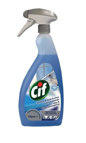 Cif Professional Window and Multi-Surface Cleaner 750ml