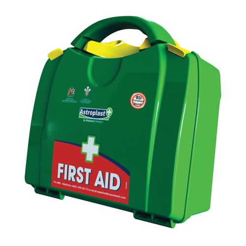 Wallace Cameron Large First Aid Kit Green
