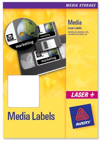 Avery Video Spine Labels 16/Sheet L7674 [25 Sheets]
