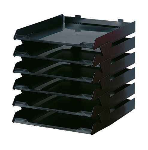 Avery Paperstack 6 Tray Black