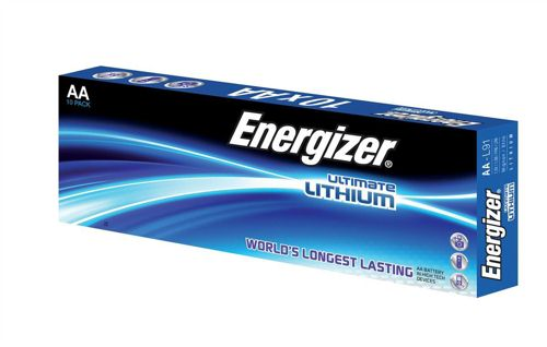 Energizer Ultimate Lithium AA Batteries [Pack of 10]