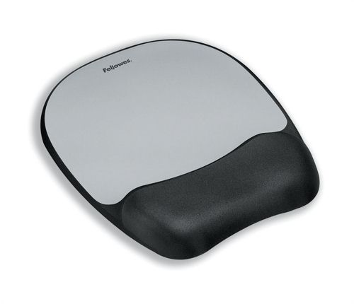 Fellowes Memory Mouse and Wrist Rest Streak Design