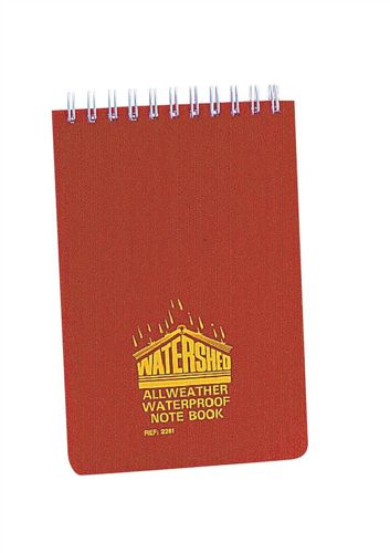 Chartwell Watershed Book 6x4 Inch Ruled Red