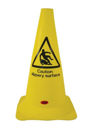 JSP Caution Slippery Surface Cone