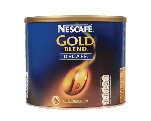 Nescafe Gold Blend Instant Coffee Decaffeinated Tin 500G
