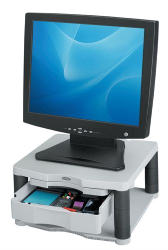 Fellowes Premium Monitor Riser Plus Platinum
