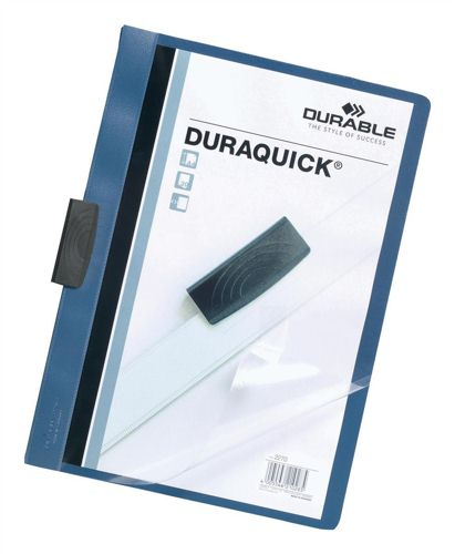 Duraquick File A4 Blue [Pack of 20]