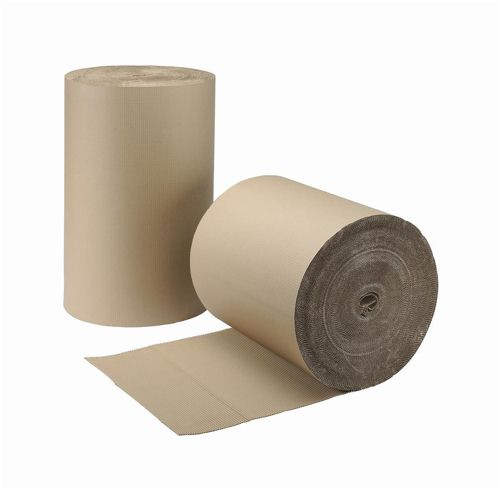 Corrugated Paper Roll 650mmx75m Brown