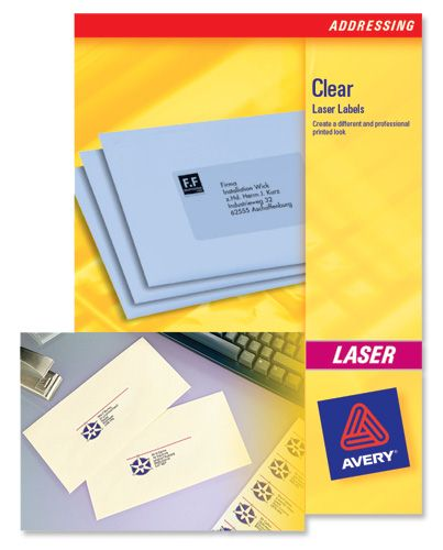 Avery Laser Labels Mini 55x12.2mm L7552 [25 Sheets]