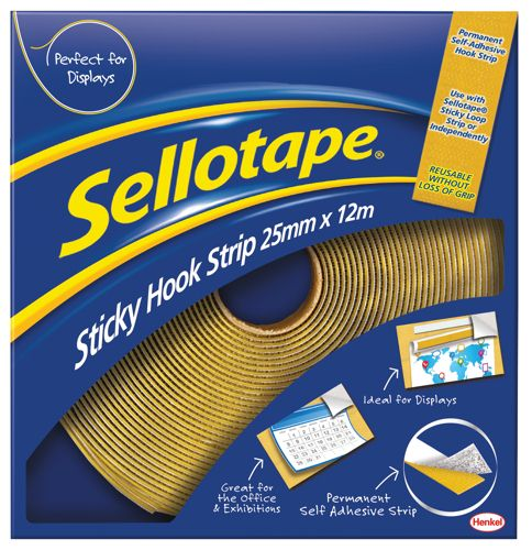 Sellotape Sticky Hook 25mmx12m