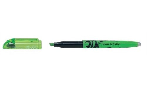 Pilot FriXion Erasable Highlighter Green [Pack 12]