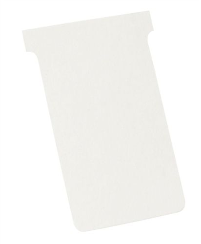 Nobo T-Card Size 4 White [Pack of 100]