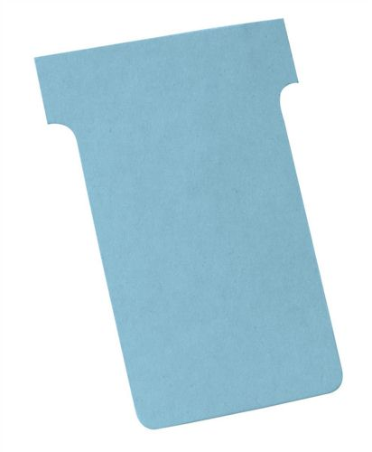 Nobo T-Card Size 2 Light Blue [Pack of 100]