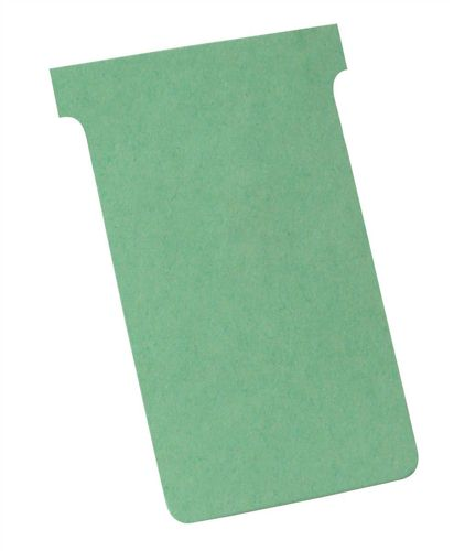 Nobo T-Card Size 4 Light Green [Pack of 100]