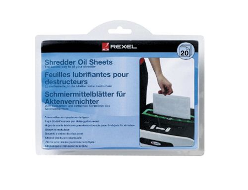 Rexel Oil Sheets [Pack of 20]