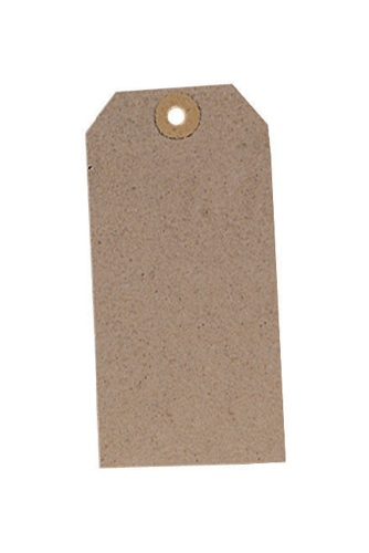 Tags Unstrung 120x60mm Buff [Pack of 1000]