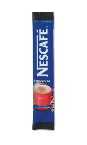 Nescafe Decaffeinated One Cup Stick [Pack of 200]