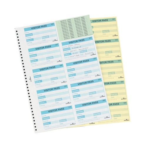 Durable Visitors Book 300 Refill