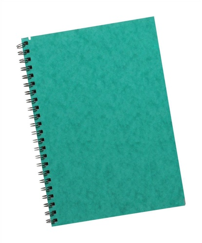 Commercial Notebook A5 96 Leaf Feint Ruled [Pack of 6]
