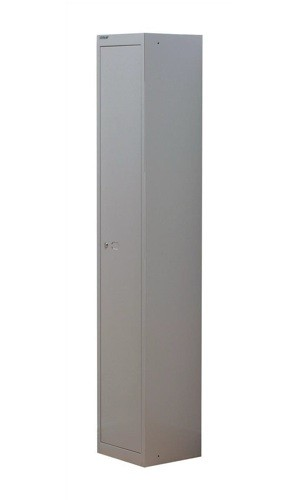 Bisley 1 Door Locker 305mm Goose Grey